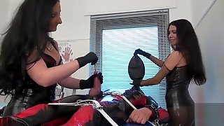 MISTRESSMIX - Rubber Mistress Sounding In The Medical Room MistressMix 720p