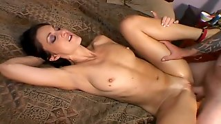 Natural Highly Vivid GF Lake Russell Is Poked Doggy After Riding Stiff Dick