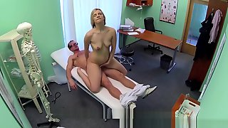 New Doctor Gets Horny MILF Naked And Wet With Desire