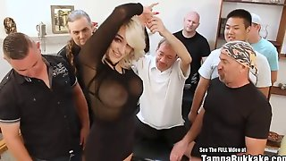 Big Tit Blonde Harper Wild Suck And Gang Fuck