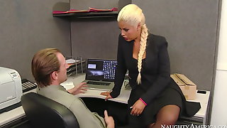 Naughty America Bridgette B. Fucking In The Office
