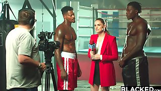 BLACKED Tori Black Is Oiled Up And Dominated By Two BBCs - Xozilla Porn