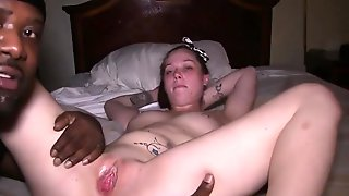 Slutty Brunette Wife Indulges In Interracial Cuckold Fucking