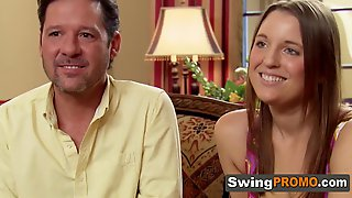 Swinger Married Couple Gets Excited.