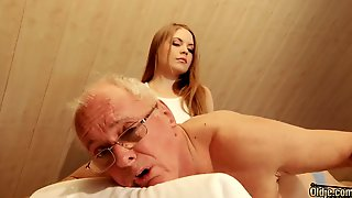 Surprise Massage - Alessandra Jane Old And Young Sex Video