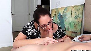 Christine Sapphire Huge Cum Shots