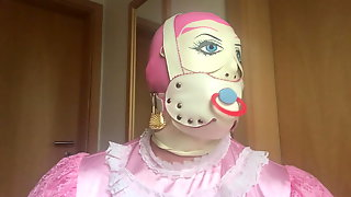 Pacifier And Baby Mask Punishment