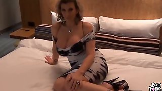 Slutty Hot MILF Fucked In A Hotel Room Part 1