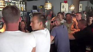 Twins In A Bar