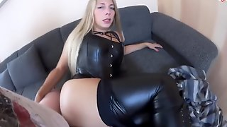 Sarah Secret Full Leather Fuck