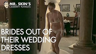 Celebrity Brides, Rip Their Dresses And Fuck Their Husbands!