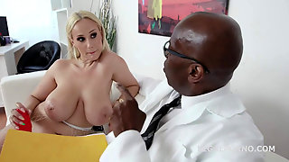 Angel Wicky And Doctor Butt Sex Session