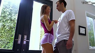 Petite Chick Asuna Fox Is Having Crazy Sex Fun With Well Endowed Fellow