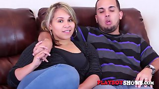 Chubby Latin Swinger Wife Gets Penetrated From Behind