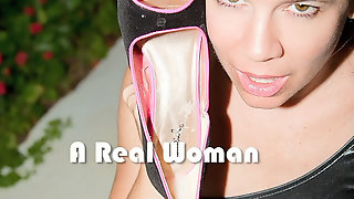 SlutWife Adds More Cum To Cum Stained Shoe