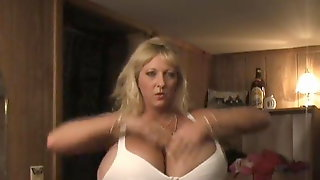 Huge Titted MILF Maxi Mound Trying Different Clothes