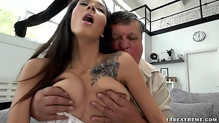 Grandpa, Blowjob