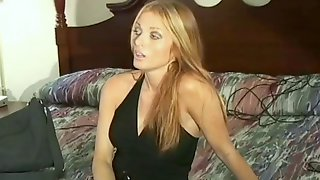 Blonde Model Sherilyn Spanked To Tears And Gets A Very Red Bottom
