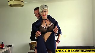 Tatted Domination & Submission Whore Rails Boner