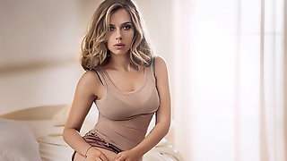 Scarlett Johansson Jerk Off Contest To The Beat (Metronome)
