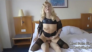Swiss Cougar Fuck Youthful Dude