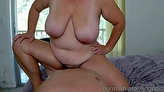 Creampie Compilation With A Couple Plus-size Wife Orgasms. Lots Cum And Wet Cunt
