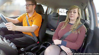 Ginormous Donk Driving Student Romping