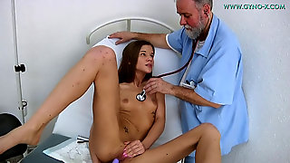 Gyno Examination For Shy Teenagers Women. Detailed Utter Body And Pussy Medical