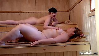 Cuni In The Sauna