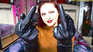 Sph,countdown,gloves Spandex Fetish