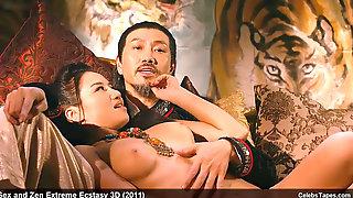 Asian Celebs Yukiko Suo, Leni Lan & Saori Hara Nude And Nasty Orgy
