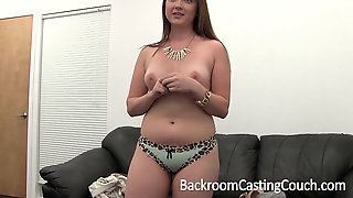Dazed Next Door First-timer Internal Cumshot Casting