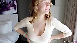 Daddy Jism Inside My Pussy POV -Molly Pills -AVN2019 Yam-sized Boobs Phat Ass White Girl Creampie