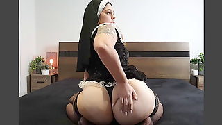 Nasty Nun JOI. Forgive Me Daddy, For I Have Sinned...