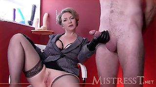 Domina T - Fuck-fest Slave To Serve Male