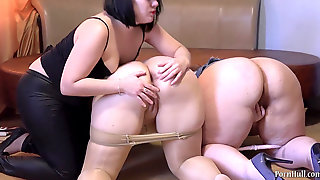 Nurse Mature And Two Young Lesbos. Rock Hard Games Lesbians