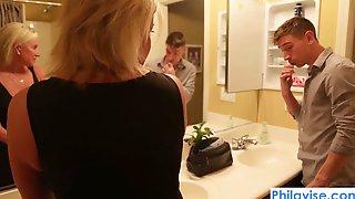 PHILAVISE-Oops, I Pied My Stepmom With Sexy Payton Hall