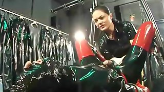 Mistress Fisting In The Rubber Room