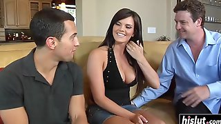 Amazing Arousing Wife Gets Double Penetration