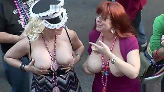 Wild Party Girls Mardi Gras Scene 9