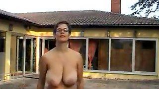 Tina - Nude Under Coat