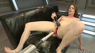 Ass Plugged Housewife Fucks Love Making Toys