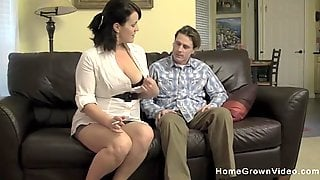 This Amateur Busty Milf Is Craving A Good Pounding!