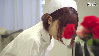 Cute Nurse Has To Give Amazing Blowjobs For Her Patient  P2
