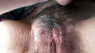 I Love To Finger Bang My Wifes Fat Hairy Cunt And Her Pussy Is Fat Indeed