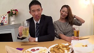 Rena Fukiishi - Affiliate Wifes Affair Actually Exists At The New Years Party Where Classmates Gather