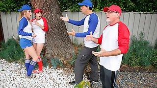 Softball Diamond Daughter Dick Down