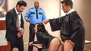 Judge, Jury, And Double Penetrator