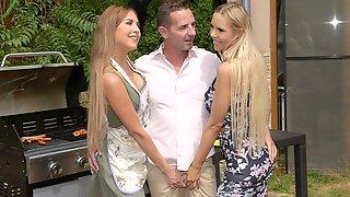 Threesome Garden Party