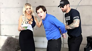 Kenzie Taylor Takes Things Into Her Own Hands When Her Stupid Husband Gets A Warrant For His Arrest Due To Outstanding Parking Violations